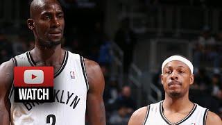 Kevin Garnett & Paul Pierce Full Highlights vs Celtics (2013.12.10)