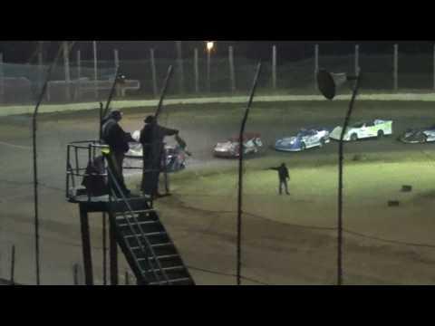CrazyJohn Videos Moler Raceway Gobbler 30  11/12/16 Late Models
