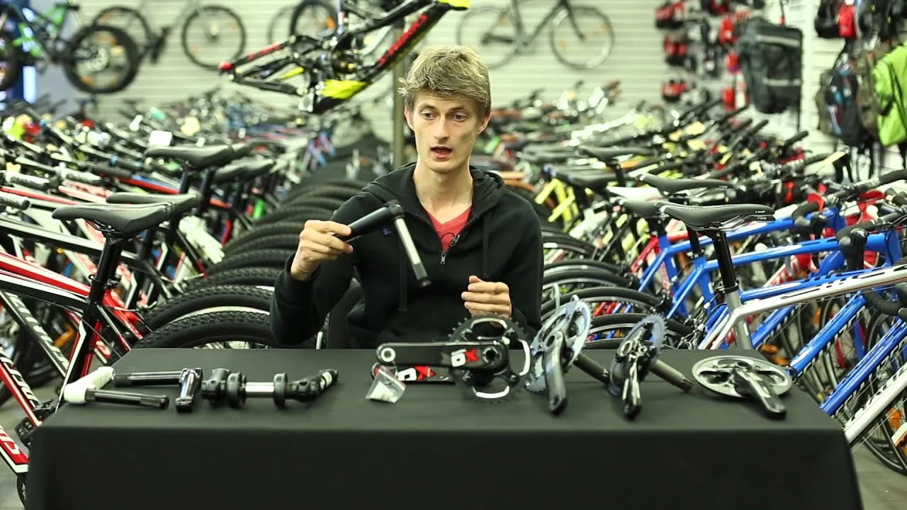 Съемник шатунов велосипеда - YouTube