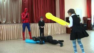 видео Человек паук на День рождения
