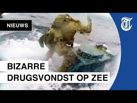 Kijk mee: kustwacht onderschept duikboot vol drugs