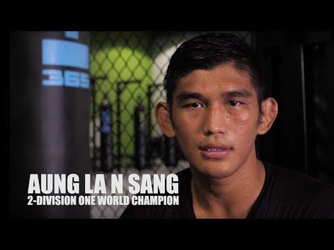 ONE VLOG   Aung La N Sang's Training Camp