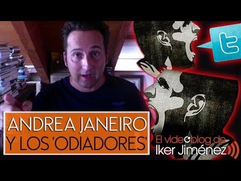 Iker Jiménez denuncia el linchamiento a Andrea Janeiro - Chic