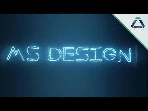 Saber text reveal - Tuto (After Effects)