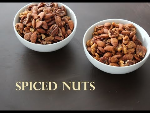 [Paleo Cooking] Spiced Nuts