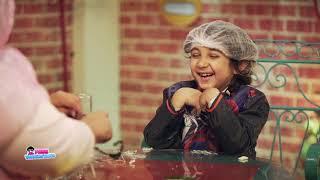 شيماء سيف تدخل في نوبة من الضحك بسبب الطفل آدم.. فيديو