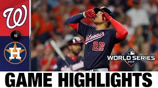 Juan Soto homers, drives in 3 in Nats' World Series Game 1 win | Nationals-Astros MLB Highlights