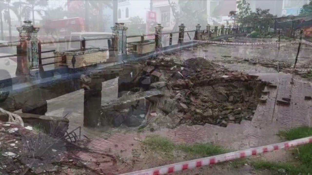 Trực tiếp bão số 12- ETAU tàn phá dữ dội tại Khánh Hoà  (10)