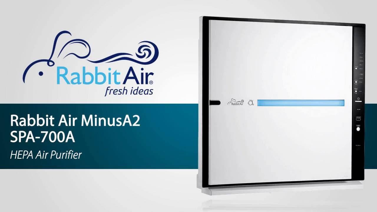Rabbit Air Minusa2 Air Purifier Spa 700a Youtube
