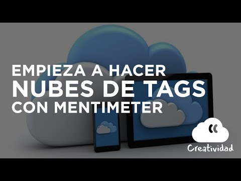 Realiza nube de tags con Mentimeter