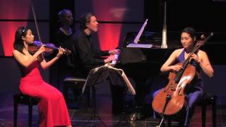 Trio con Brio: Beethoven Trio opus 1 no. 3 - 2 Andante cantabile con variazioni