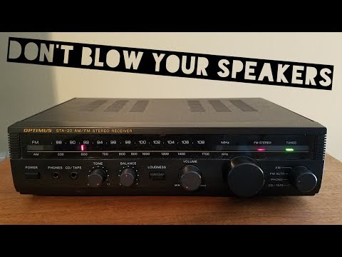 Test Your Vintage Thrift Store Stereo Before You Hook It Up To Your Speakers