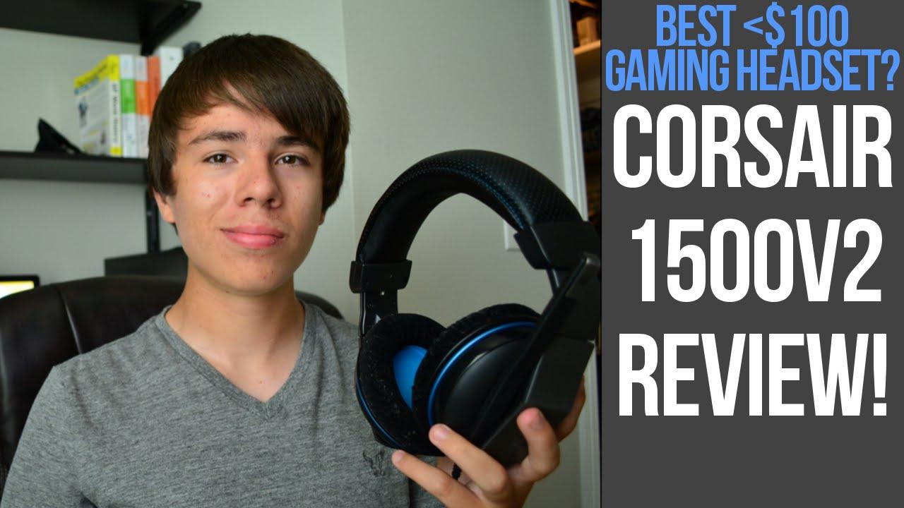 best pc gaming headset under 100 corsair 1500v2 review. Black Bedroom Furniture Sets. Home Design Ideas