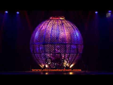 Circus Stardust Entertainment Agency Presents: Globe Of Death (Circus Act 00768)