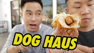 Fung Bros Food: Gourmet Hot Dogs (dog Haus)