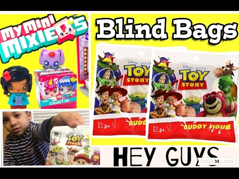 Hey Guys, it's a Toy Story Blind Bags and My Mini Mixieqs ...