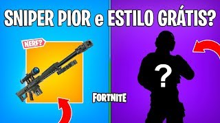 FORTNITE-NERFAR HEAVY SNIPER and EXCLUSIVE FREE STYLE?