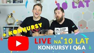 LIVE na 10-lecie kanału | Konkursy i Q&A