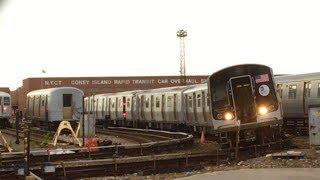 [MTA]: R179 [#3015-3019] Train @ Coney Island Yard
