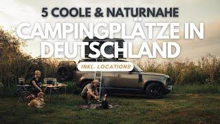 2000 KM Roadtrip mİt Dachzelt und Defender durch Deutschland! (inkl. Angabe aller Campingplätze)