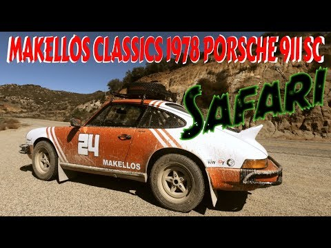 Makellos Classics turned a 1978 Porsche 911 SC into a Safari 911
