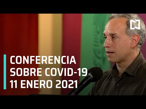 Conferencia Covid-19 en México - 11 enero 2021