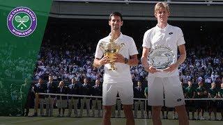Download Video Novak Djokovic vs Kevin Anderson Final Highlights | Wimbledon 2018 MP3 3GP MP4