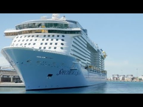 Spectrum of the Seas makes debut in China