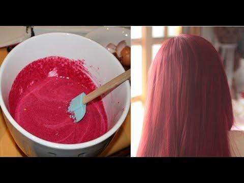 Nhuộm tóc bằng củ dền, tóc anh đỏ siêu đẹp ai cũng khen nức nở