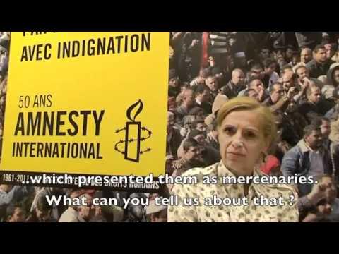 LIBYA Amnesty International confessing
