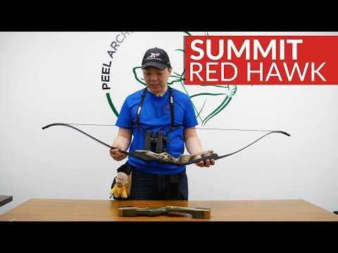 Summit Red Hawk Takedown Recurve Bow By Samick - Quick Overview.