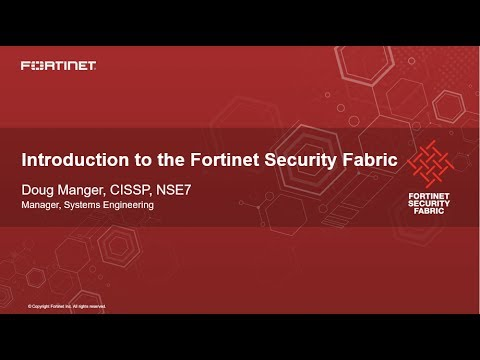 Atrion Presents Fortinet Security Fabric