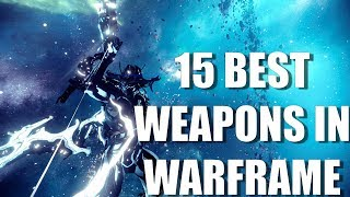 Warframe - My Favorite Weapons In Game (Primary, Secondary, and Melee)