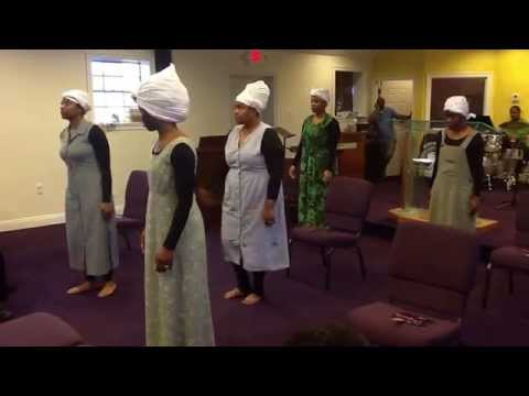 From Slavery to Freedom - Black History - Women of Worship Liturgical Dancers