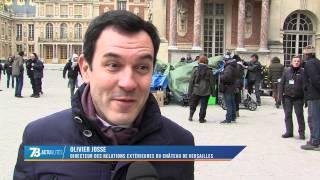 """Film : La série """"Versailles"""" en tournage au château"""