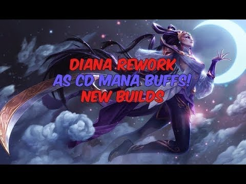 Diana vs Jarvan IV Jungle - ROA Rush - Diamond 5 [NA] - Patch 7.16