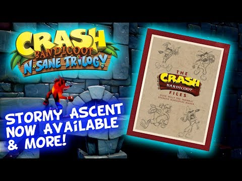 Stormy Ascent Download Now For FREE! The Crash Bandicoot Files Book - July Loot Crate Special!