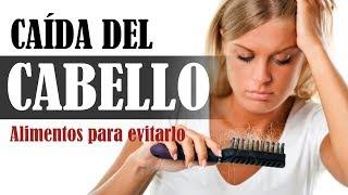 Evite la pérdida de cabello con una dieta adecuada