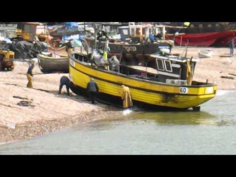 Hastings Fishing Fleet Return