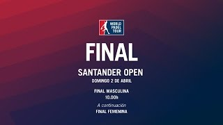 Video Final Santander Open 2017 | World Padel Tour download MP3, 3GP, MP4, WEBM, AVI, FLV September 2017