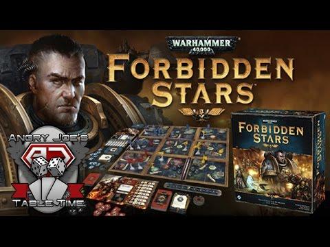 Forbidden Stars: 40K [AJ's Tabletime!]