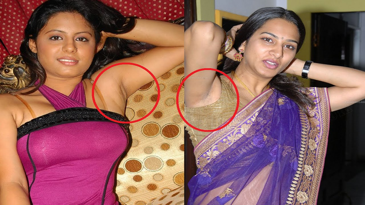 Hairy Armpit Indian Aunty in aunty actress armpits hot collections - very hot armpits | telugu