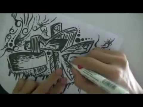 GRAFITY BATIK (SPIDOL&PULPEN)
