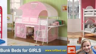 Girls Bunk Beds, Loft Beds For Kids Of Any Age