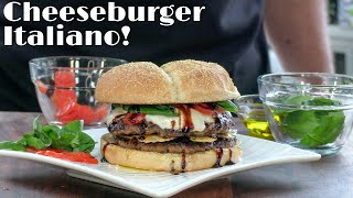 Cheeseburger Italiano Recipe   Italian Cheeseburger   How To Make A Cheeseburger   Ballistic BBQ