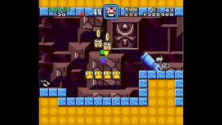 SMW Hack - Luigi's Misadventures: Tsux Namine's Factor (8)