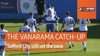 Vanarama National League Highlights: Salford City still set the pace