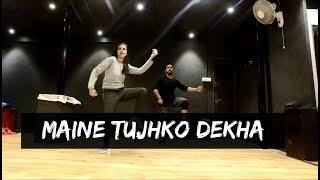 MAINE TUJHKO DEKHA (Golmaal Again) | Tejas Dhoke Choreography | Dance Fit LIve