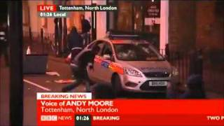 Reporters Attacked In London Riots  CNN, BBC, Channel 4, Sky Journalists All Targeted