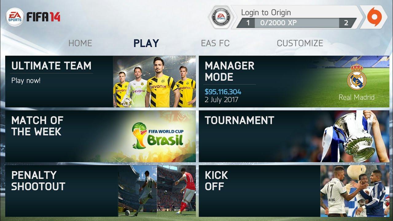 Image result for FIFA 14 MOD APK